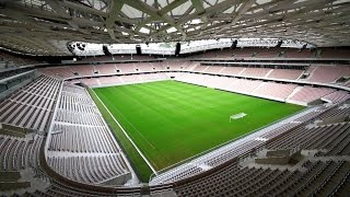 Allianz Riviera Stadium Tour (Stade de Nice EURO 2016) - Unravel Travel TV