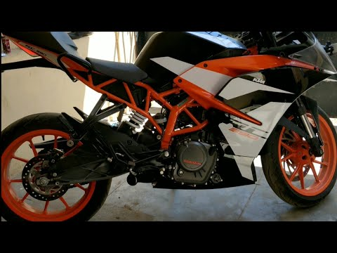KTM RC390 Without Exhaust Sound