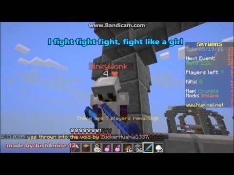 minecraft jams -fight like a girl 1 hour