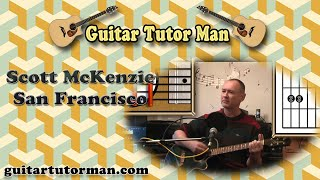 San Francisco - Scott McKenzie - Acoustic Guitar Lesson