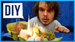 DIY Oster-Geschenkidee (Oder: Rick spielt mit seinen Eiern)