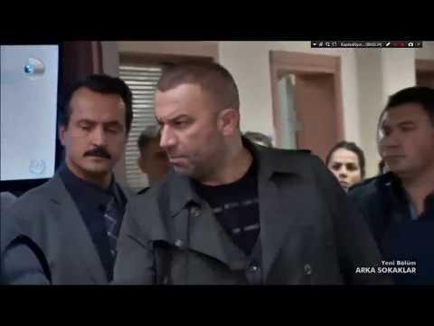 Arka Sokaklar - Hüsnü'ye Dokunma O Kelepçeyi Sana Takarım (454.Bölüm)