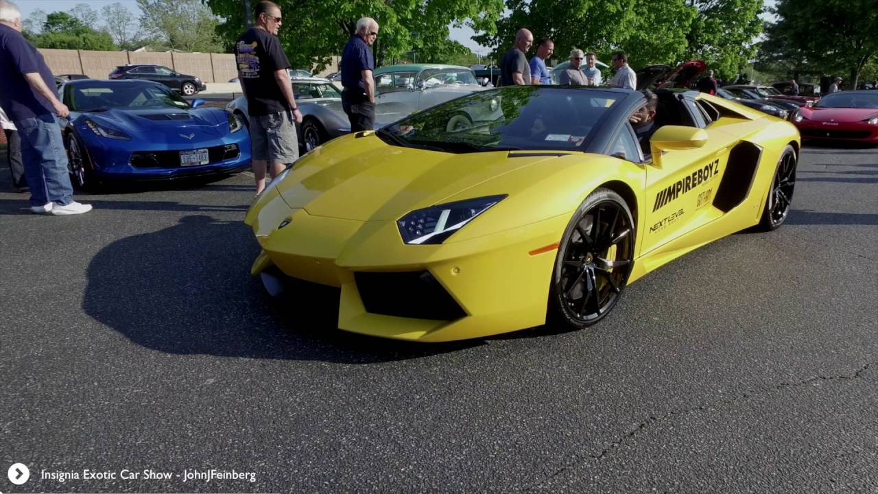 Th Annual Exotic Car Show At Insignia Steakhouse YouTube - Exotic car show near me