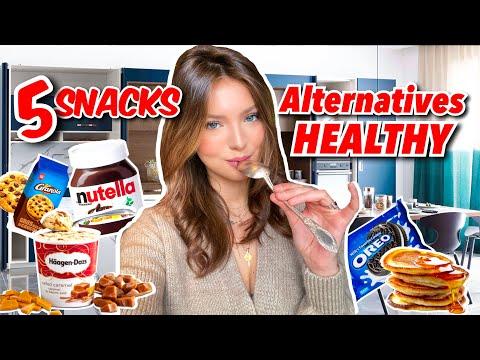 5 SNACKS ALTERNATIVES HEALTHY | SleepingBeauty thumbnail