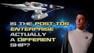 Is the Post-TOS Enterprise Actually a Different Ship?