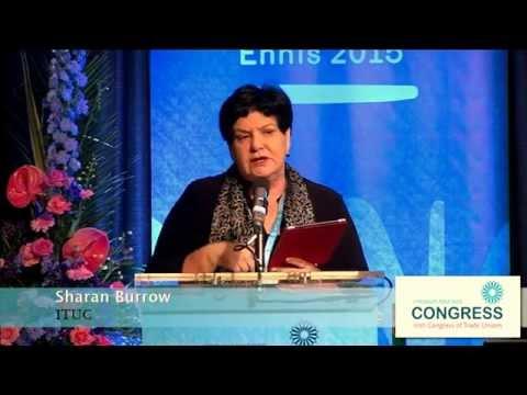 Sharan Burrow ITUC