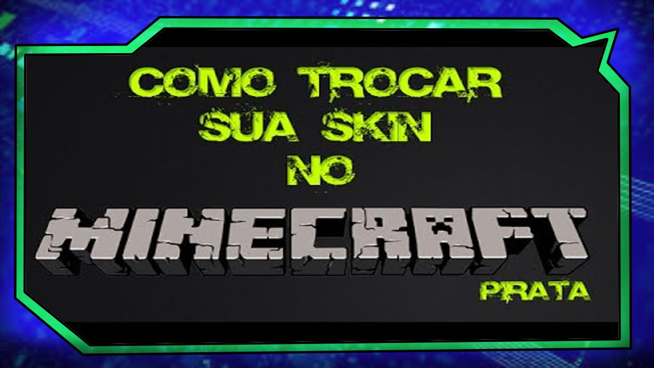 Como Colocar Skin No Minecraft PIRATA Pirata YouTube - Nome de skin para minecraft 1 8 pirata