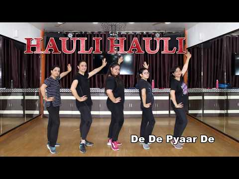 Hauli Hauli Easy Dance Steps For Girls | De De Pyaar De | Choreography Step2Step Dance Studio