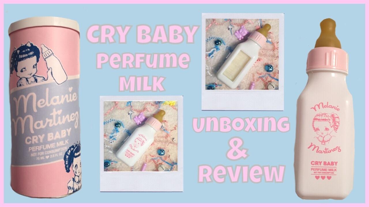 Melanie Martinez Cry Baby Perfume Milk Unboxing And