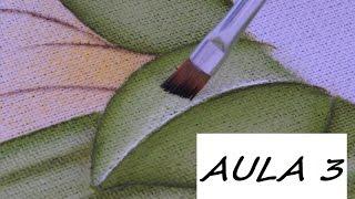 Como pintar uma folha simples