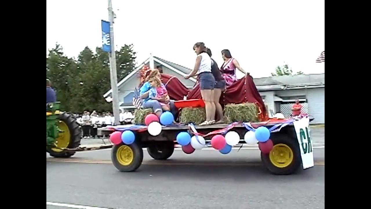 Chazy Memorial Parade  5-30-10
