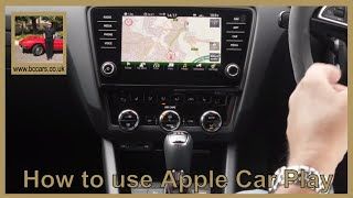 How to use Apple Car Play