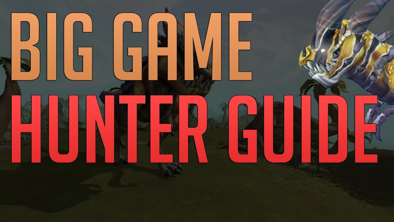 Big Game Hunter guide 2019 | New hunter training method