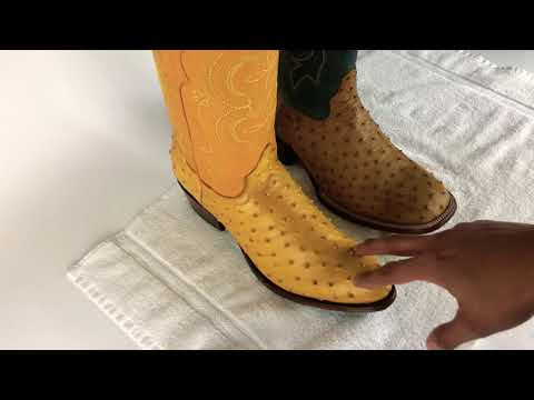 How To Know If Your Ostrich Boots Are Real Or Print