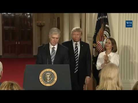 President Trump Nominates Neil M. Gorsuch to the Supreme Court
