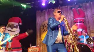 """Me First Gimme Gimmes """"Heart of Glass"""" Blondie Christmas show at Slim's SF 12/14/19 live"""
