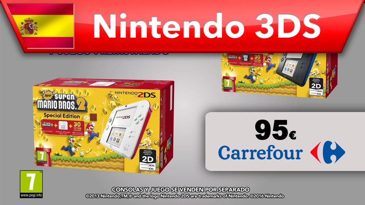 New Super Mario Bros 2 Hazte Con Consola Y Juego Por Solo 95