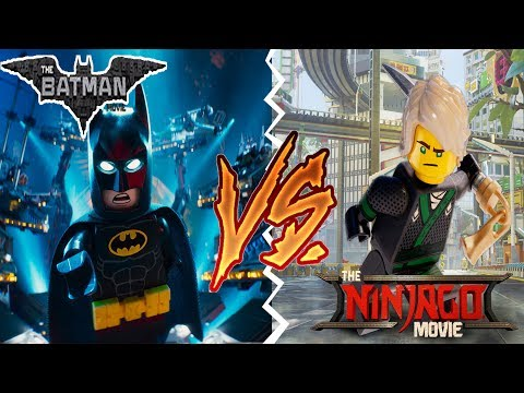 The LEGO Batman Movie Vs The LEGO Ninjago Movie! Which is better?