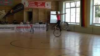 Nicole Frybortova - акробатика на велосипеде