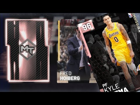 NBA 2K19 My Team - Pink Diamond Kuzma Packs!