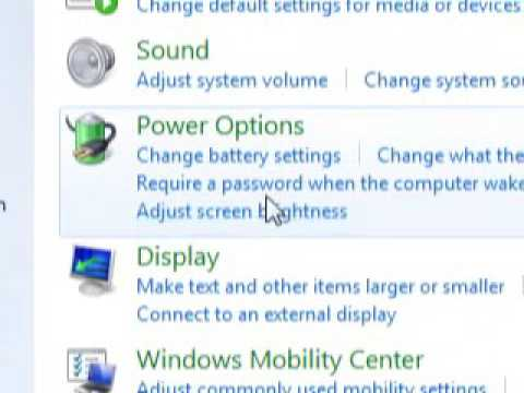 TURN Wireless ON (WIFI) WINDOWS 7  - Windows Mobility Center