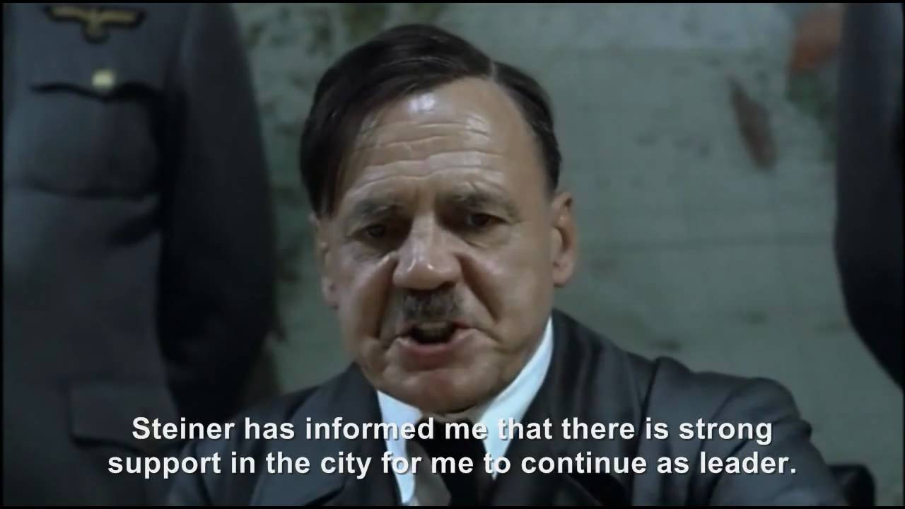 Hitler plans to remain the Führer after the war is lost