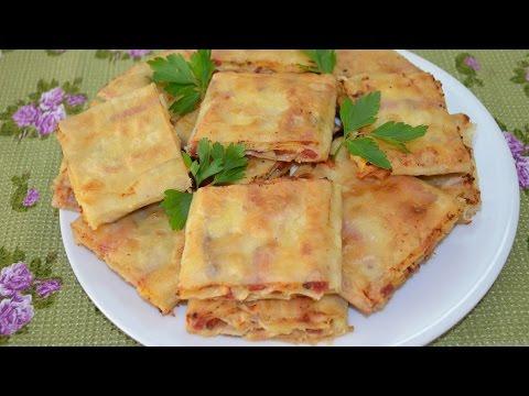 Почти лаваш или тортилья - кулинарный рецепт