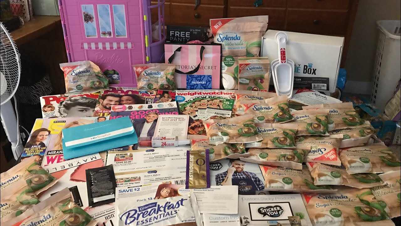 Free samples by mail free shipping shopping haul totally free.