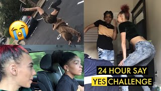 MUST SAY YES FOR 24 HOURS CHALLENGE!!!