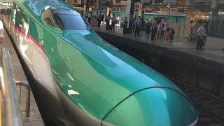 Tokyo - Fukushima - Aomori with 320 km/h on the Shinkansen High Speed Train はやぶさ東北新幹線 東京~新青森