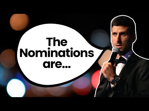 Novak Djokovic: The Nominees for the Laureus World Sportsman of the Year Award are...