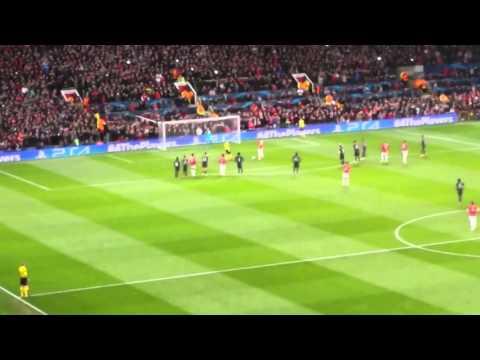 Robin Van Persie Penalty vs Olympiakos 2nd Leg Round of 16 2014