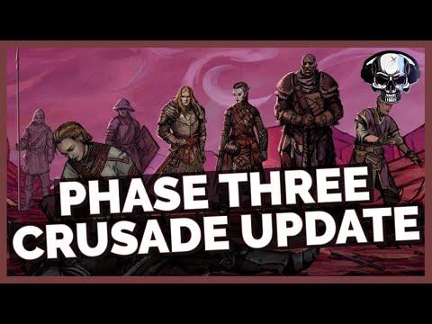 Pathfinder: WotR - Crusade Updates - Beta Phase 3 |