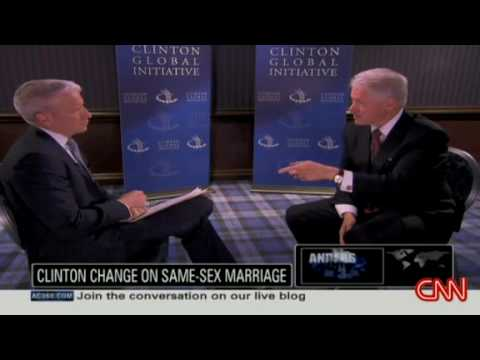 Bill Clinton on same sex marriage