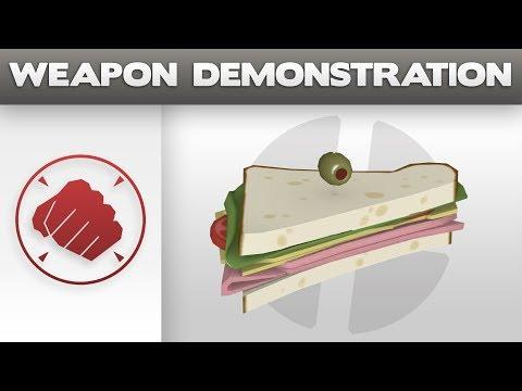 Weapon Demonstration: Sandvich