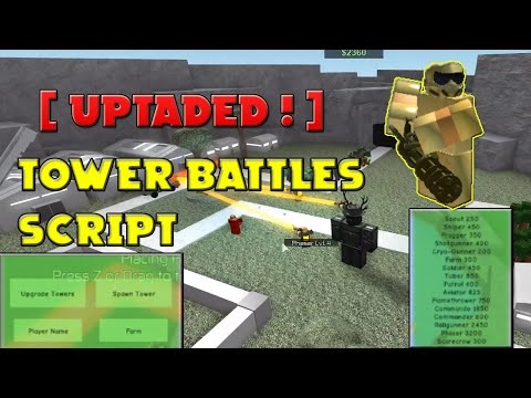 Roblox Exploiting With Rc7 - Tower Battles [Very OP Script in the Desc.]