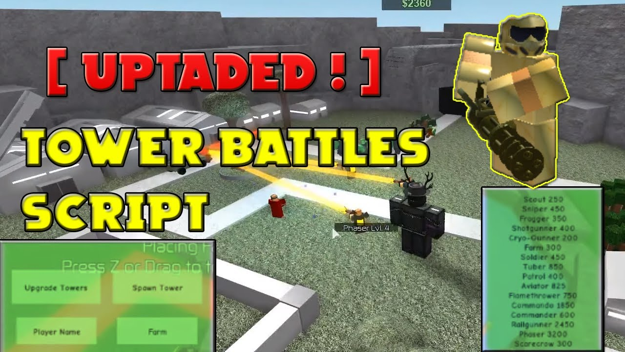 Roblox Exploiting With Rc7 Tower Battles Very Op Scr