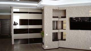 Модная квартира под ключ с современной мебелью на заказ(На видео мы записали свой, воплощенный же нашими строителями дизайн интерьера под ключ (включая планировку)..., 2015-03-16T12:18:11.000Z)