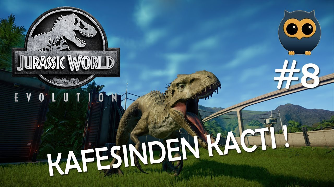 INDOMIREX VE SPINO KAFESINDEN KACTI - Jurassic World Evolution #8 [Türkçe]