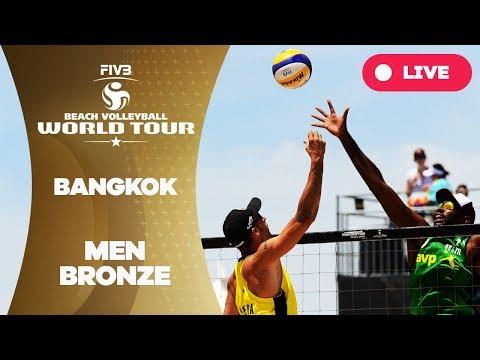 Bangkok - 2018 FIVB Beach Volleyball World Tour - Men Bronze Medal Match