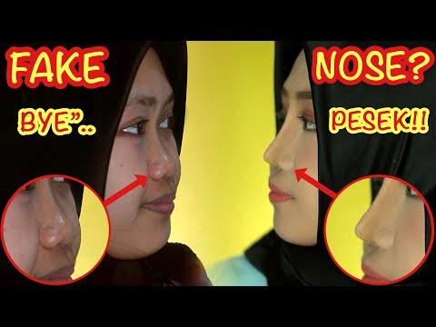 Cara INSTANT Buat Hidung MANCUNG.. Not Plastic Surgery!!..
