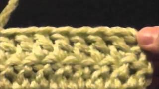 Вязание крючком: столбики с накидом