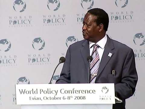 Raila Amolo Odinga - Plenary Sessioin Part 1
