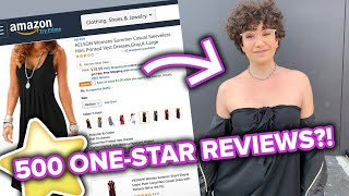 Women Style One Of Amazon's Worst Reviewed Dresses