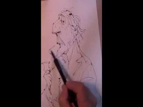 ! SketchBook Guy w Pipe 2e...BACharacters