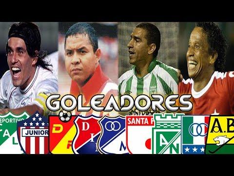LOS MÁXIMOS GOLEADORES DE CADA EQUIPO COLOMBIANO ⚽   CAMILO MD