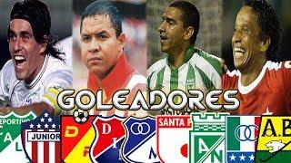 LOS MÁXIMOS GOLEADORES DE CADA EQUIPO COLOMBIANO ⚽ | CAMILO MD
