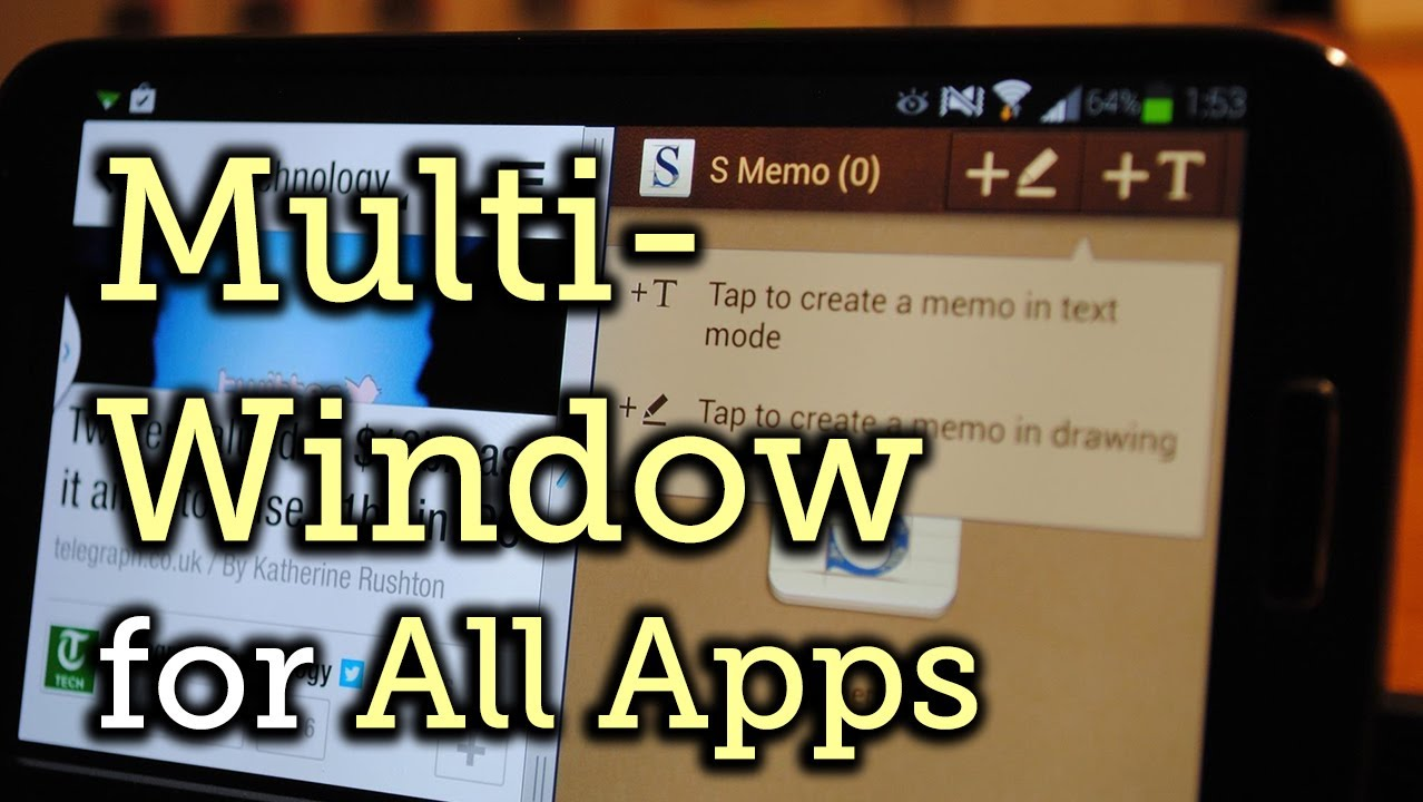 How to Enable Multi-Window View for Every Single App on Your Samsung