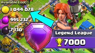 3 MILLION LOOT in ONE RAID!  Road to 7000 Trophies| Farm to Max | Clash of Clans