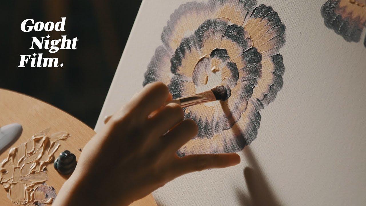 🎨 화장품으로 그림 그리는 ASMR   굿나잇필름 EP.03 [ASMR] Painting With Cosmetics
